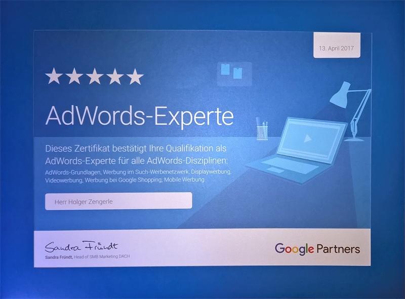 Adwords Experte Holger Zengerle
